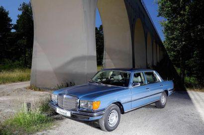 1977 MERCEDES-BENZ 450 SEL 6,9L W116 Numéro de série 11603612002572 Restauration...