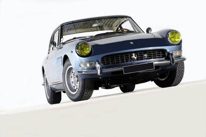 1966 FERRARI 330 GT 2+2 « Matching numbers »  Ex-Salon de Paris 1966  Même propriétaire...