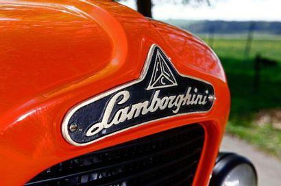1965 LAMBORGHINI TRACTEUR 1R Numéro de série 17656  Restauré intégralement  Titre...