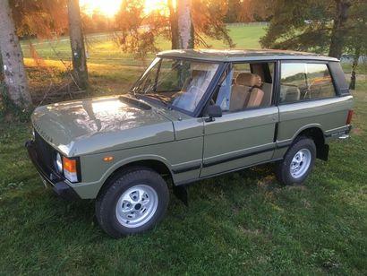 1985 RANGE ROVER 3,5L V8