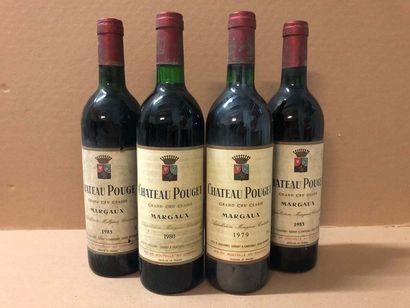 2 Blle Château POUGET (Margaux) 1985 - Belles...