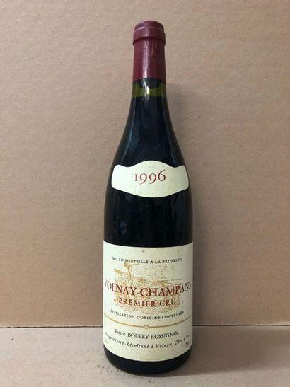 6 Blle VOLNAY CHAMPANS 1er Cru (Pierre Bouley-Rossignol)...