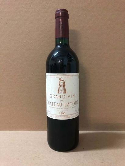 1 Blle Château LATOUR (Pauillac) 1996 - Très...