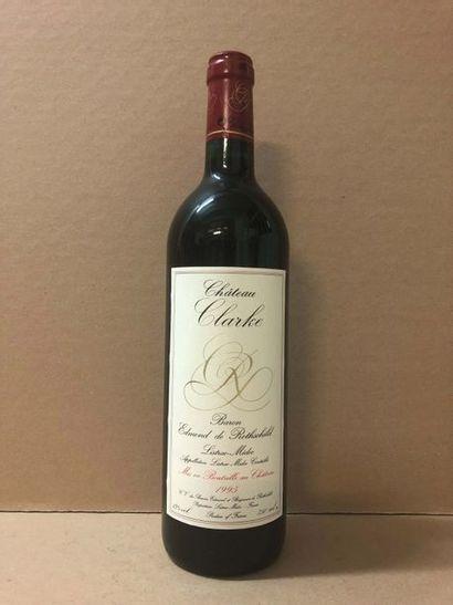 12 Blle Château CLARKE (Pauillac) 1995 -...
