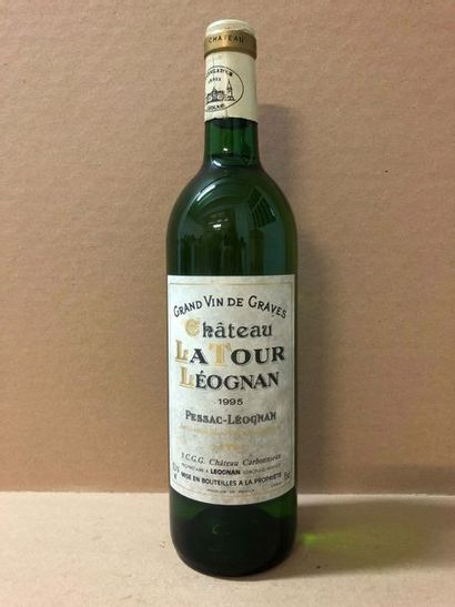 9 Blle Château LA TOUR LEOGNAN (Graves Blanc)...