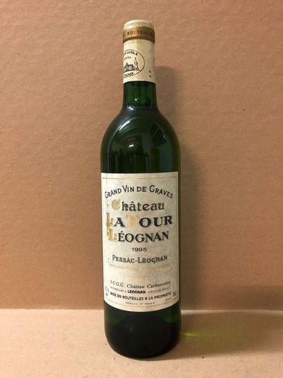 6 Blle Château LA TOUR LEOGNAN (Graves Blanc)...