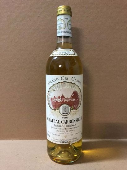 6 Blle Château CARBONNIEUX BLANC (Graves)...