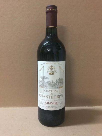 12 Blle Château CHANTEGRIVE (Graves) 1995...