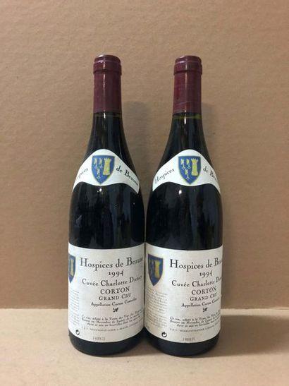 2 Blle CORTON DES HOSPICES DE BEAUNES ( Cuvée...