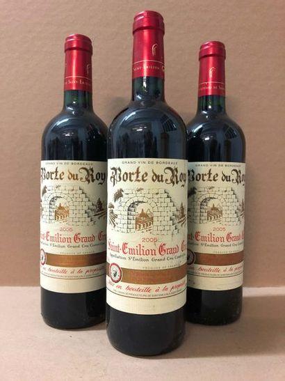 3 Blle Château PORTE DU ROY (St Emilion GC)...