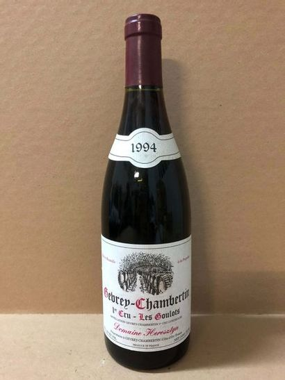 6 Blle GEVREY CHAMBERTIN LES GOULOTS (Domaine...