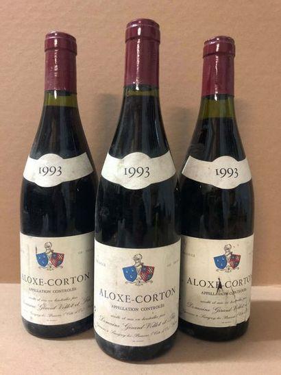 3 Ble ALOXE CORTON (Domaine Girard - Vollet...