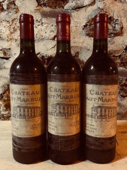 3 Blle Château HAUT MARBUZET (St Estèphe)...