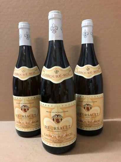 3 Blle MEURSAULT (Labourré-Roi) 2004 - Très...