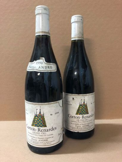 2 Blle CORTON RENARDES (P.André) 1990 - Bons...