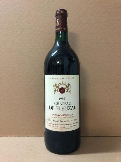 1 Mg Château FIEUZAL (Graves rouge) 1989...