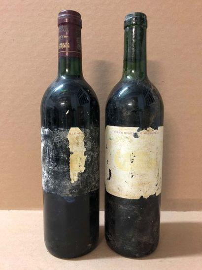 2 Blle Château MARGAUX (Margaux) 1989 -...