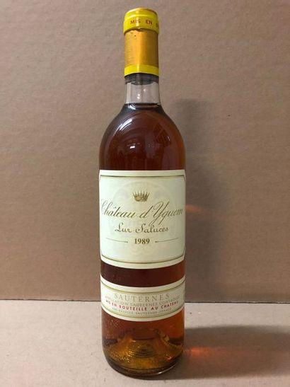 1 Blle Château YQUEM 1989 - Belle