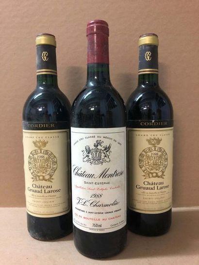 2 Blle Château GRUAUD LAROSE (St Julien)...