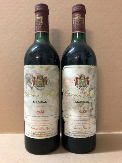 2 Blle Château de MONTUS (Madiran) 1988 -...