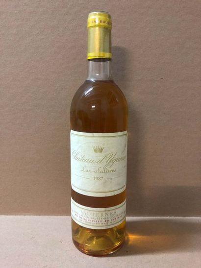 1 Blle Château YQUEM 1987 - Très belle