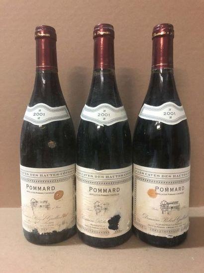 3 Blle POMMARD (Domaine Robert Guillemard)...