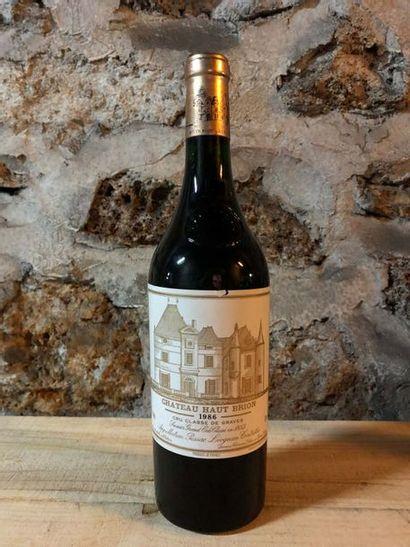1 Blle Château HAUT BRION (Graves) 1986 -...