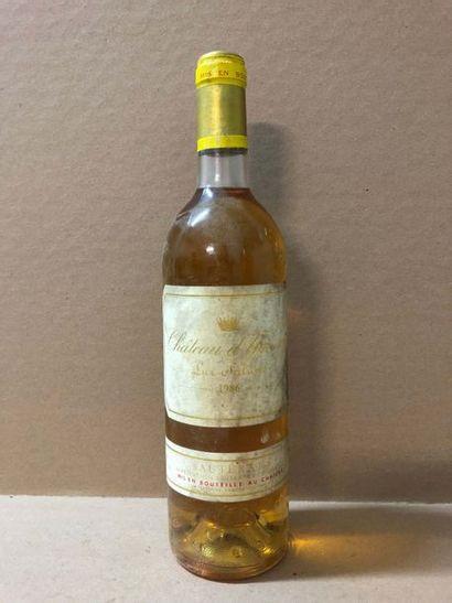 1 Blle Château YQUEM 1986 - Belle