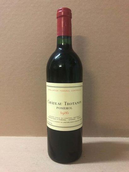 6 Blle Château TROTANOY (Pomerol) 1986 -...