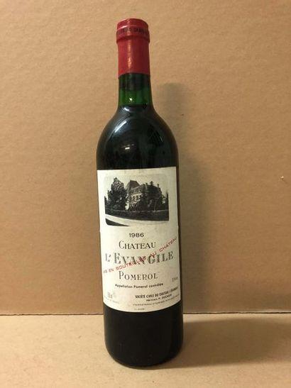 1 Blle Château EVANGILE (Pomerol) 1986 -...