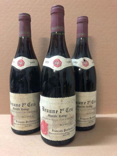 3 Blle BEAUNES MONTEE ROUGE (F.Protheau)...