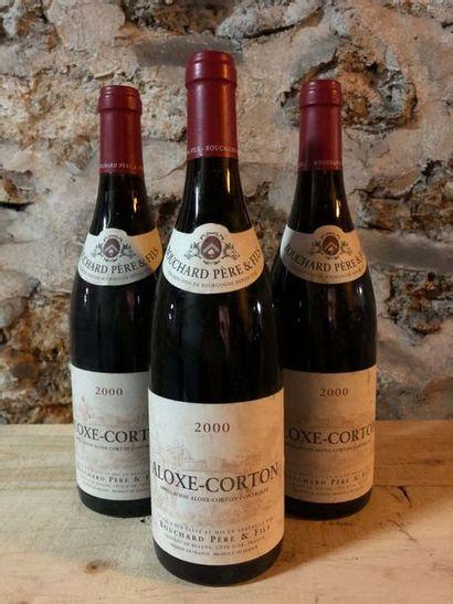 3 Blle ALOXE CORTON (Bouchard Père & Fils)...