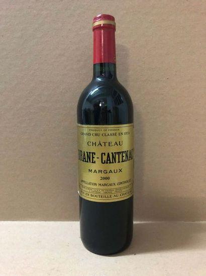 1 Blle Château BRANE CANTENAC (Margaux) 2000...