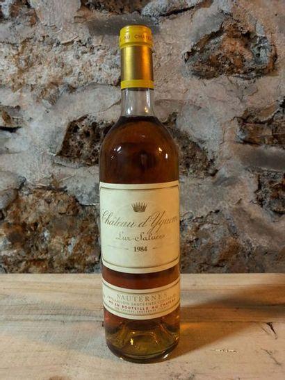 1 Blle Château YQUEM 1984 - Belle / Bas ...