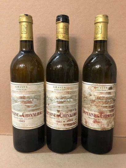 3 Blle Château DOMAINE DE CHEVALIER BLANC...