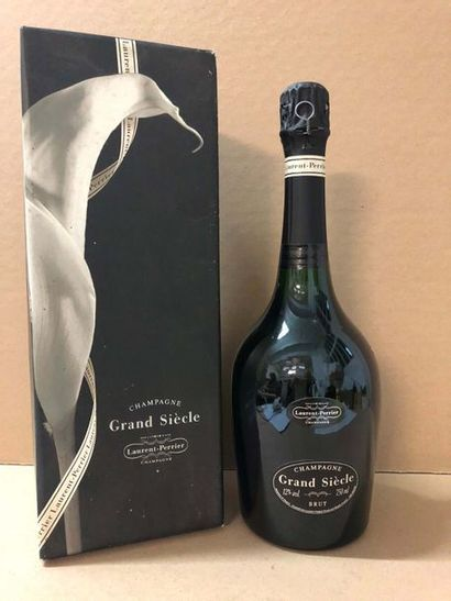 1 Blle CHAMPAGNE LAURENT PERRIER GRAND SIECLE...