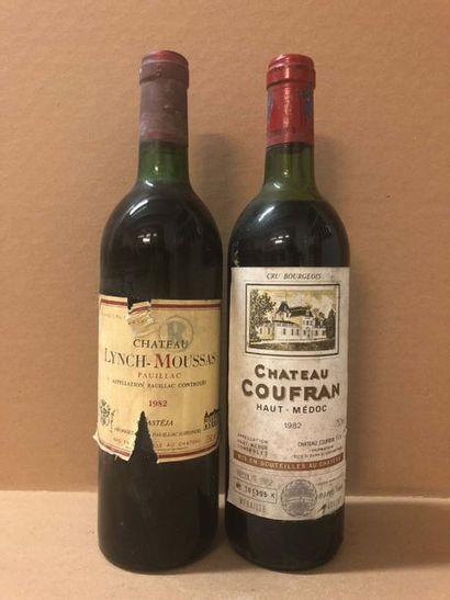1 Blle Château LYNCH MOUSSAS (Pauillac) 1982...