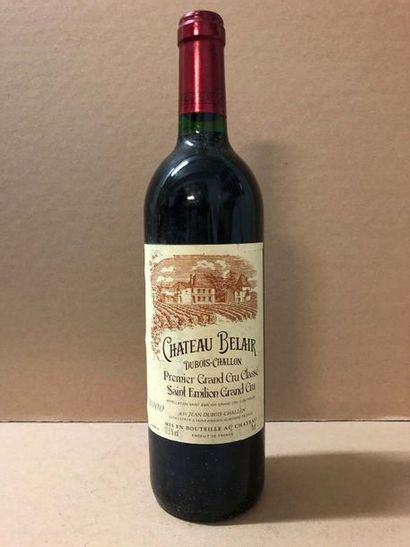 9 Blle Château BELAIR (St Emilion GCC1) 2000...