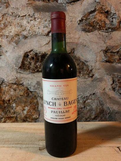 1 Blle Château LYNCH BAGES (Pauillac) 1970...