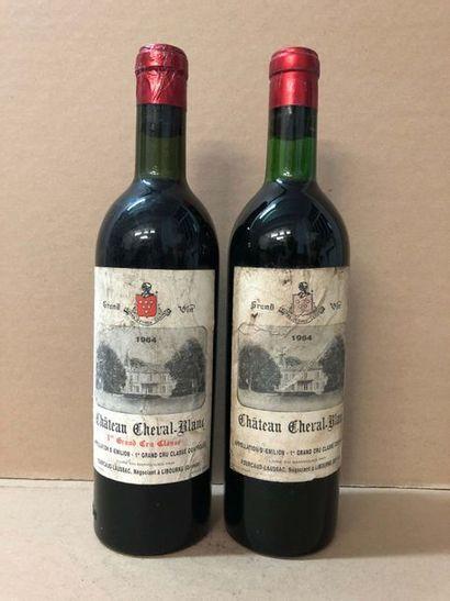 2 Blle Château CHEVAL BLANC (St Emilion 1er...