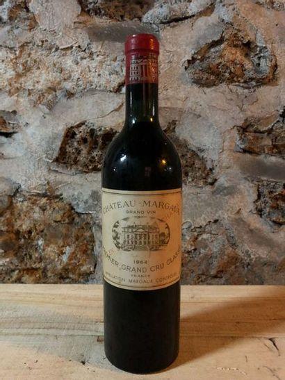 1 Blle Château MARGAUX (Margaux) 1964 - Très...