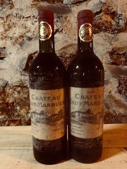 2 Blle Château HAUT MARBUZET (St Estèphe)...