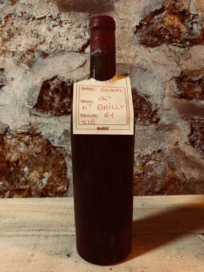 1 Blle Château HAUT BAILLY (Graves) 1961...