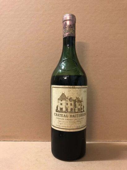 1 Blle Château HAUT BRION (Graves) 1961 -...