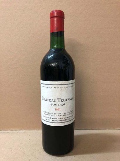 1 Blle Château TROTANOY (Pomerol) mise Lafitte...