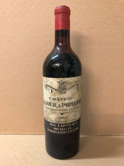 1 Blle Château LATOUR POMEROL (Pomerol) mise...