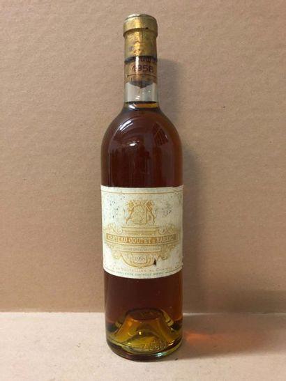 1 Blle Château COUTET (Barsac) 1958 - Très...