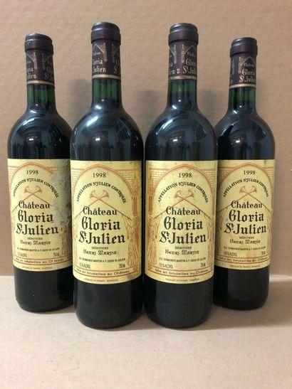 4 Blle Chateau GLORIA (St julien) 1998 -...