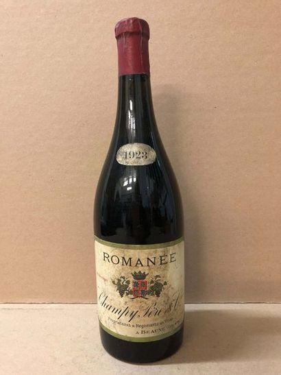 1 Blle LA ROMANEE (Champy Père & Fils) 1923...