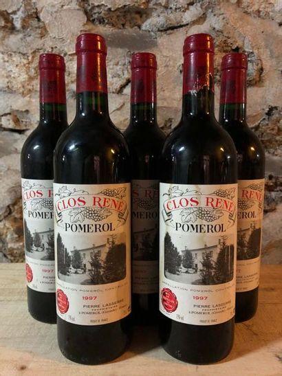 5 Blle Château CLOS RENE (Pomerol) 1997 -...